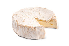 Wheel of soft cheese Royalty Free Stock Photography