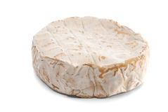 Wheel of soft cheese Royalty Free Stock Images