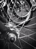 Wheel spokes royalty free stock photography