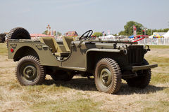 4 wheel steer Willys Jeep Royalty Free Stock Images