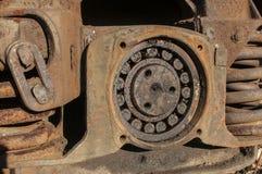 Free Wheel Suspension Of Railway Wagon Stock Photo - 63340470