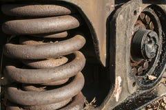 Free Wheel Suspension Of Railway Wagon Royalty Free Stock Image - 63340476