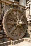 Wheel of Temple Chariot, Konark Royalty Free Stock Image