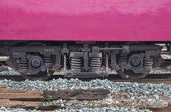 Wheel Thai train Diesel rail Stock Photography