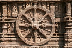 Wheel of time (India) Stock Image