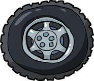 Wheel and tire Royalty Free Stock Photos