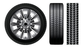Wheel - Tire and Rim Royalty Free Stock Photography