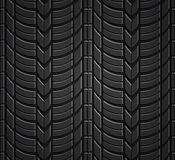 Wheel tire seamless pattern Royalty Free Stock Photography