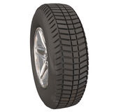 Wheel Tire Side View Car Vehicle Automotive Driving Royalty Free Stock Images