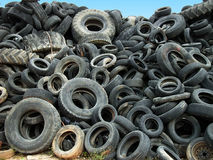 Wheel Tires Stock Image