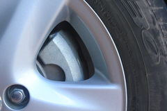 Wheel. Tires for safe driving and travel must take care and follow lifetime royalty free stock photos