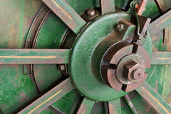 Wheel of tractor Stock Photography