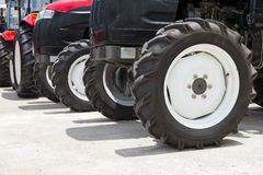 Wheel tractor Royalty Free Stock Photography