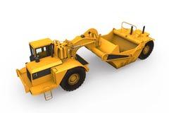 Wheel Tractor Scraper Stock Images
