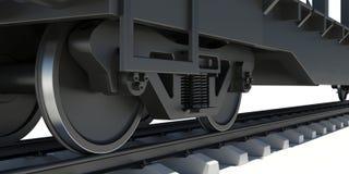 Wheel Of Train Royalty Free Stock Photo