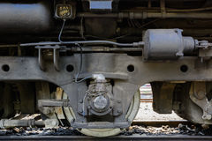 The wheel Train Stock Photo