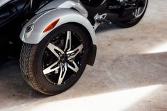 Wheel Trike for Trike or tricycle . Stock Photos
