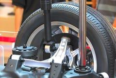 Wheel tyre Stock Photos