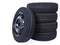 Wheel and Tyres Stock Image