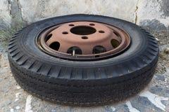 Wheel vehicle Stock Image