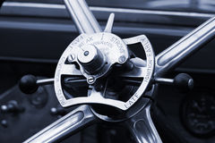 Wheel of vintage car Stock Photography