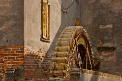 The wheel of the watermill Royalty Free Stock Photo
