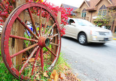 Wheel and wheels Royalty Free Stock Photography