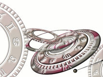 The wheel of zodiac / horoscope wheel stock photo