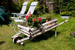wheelbarrow Στοκ Φωτογραφίες