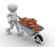 Wheelbarrow Stock Photos