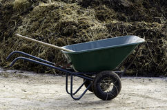 Wheelbarrow Royalty Free Stock Photos