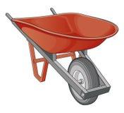 Wheelbarrow Imagens de Stock Royalty Free