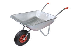 Wheelbarrow stock image
