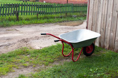 Wheelbarrow. Stock Images