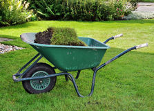 Wheelbarrow Obrazy Stock