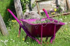 wheelbarrow στοκ εικόνες