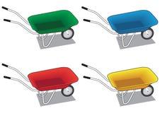 wheelbarrow Stockfotos