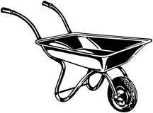 wheelbarrow Obraz Royalty Free