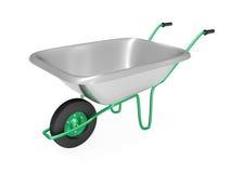 wheelbarrow Stockbild