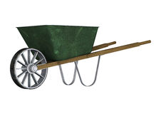 wheelbarrow Lizenzfreies Stockbild
