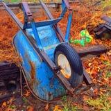 wheelbarrow στοκ εικόνα με δικαίωμα ελεύθερης χρήσης