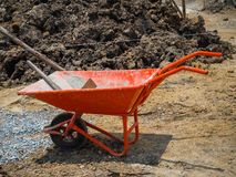 wheelbarrow Stockbilder