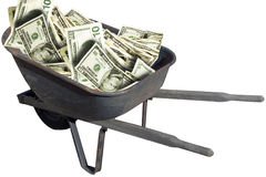 Free Wheelbarrow Royalty Free Stock Photography - 609897