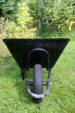 Wheelbarrow. In the garden taken from in front Stock Photos