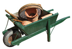 Wheelbarrow Foto de Stock Royalty Free