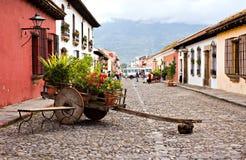 Wheelbarrow of Antigua Royalty Free Stock Photography