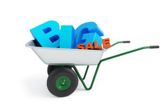 Wheelbarrow big sale Stock Photos