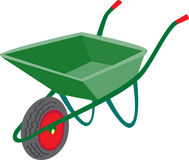 Wheelbarrow Royalty Free Stock Image