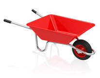 The wheelbarrow Stock Image