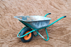 Wheelbarrow Royalty Free Stock Images